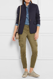Montgomery stretch-cotton twill skinny pants