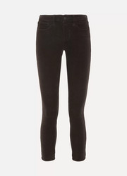 L'Agence The Margot cropped corduroy skinny pants