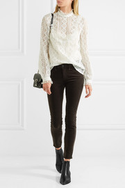 The Margot cropped corduroy skinny pants