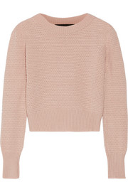 The Elder Statesman Cropped cashmere sweater