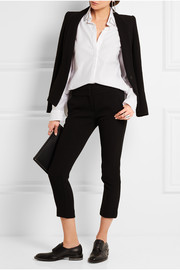Dion Lee Cutout embellished cotton-mesh shirt