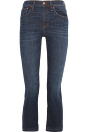 Demi Boot cropped mid-rise jeans