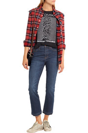 Cali Demi Boot cropped mid-rise jeans