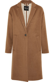 Monsieur wool-blend felt coat