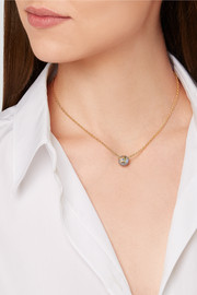Carolina Bucci Superstellar 18-karat gold, sapphire and pearl necklace