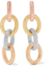 Carolina Bucci Huggy 18-karat gold earrings