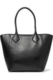 Cruiser textured-leather tote
