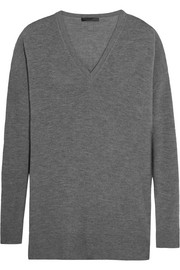The Row Amherst cashmere and silk-blend sweater