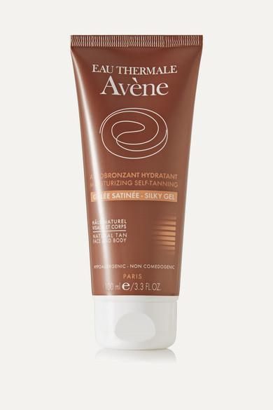 AVENE Moisturizing Self-Tanning Silky Gel, 100Ml - Colorless