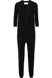Wool and cashmere-blend jumpsuit