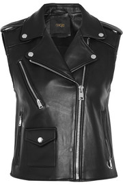 Maje Leather vest