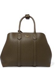 Mallet & Co Hanbury textured-leather tote