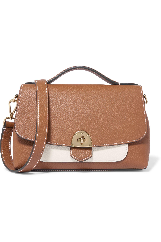 Mallet & Co Basil textured-leather shoulder bag