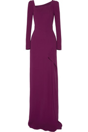 Roland Mouret Lely stretch-crepe gown
