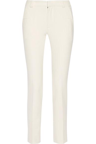 Lacerta Stretch-crepe Slim-leg Pants - Off-white Roland Mouret wTeN4t59v