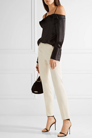 Roland Mouret Lacerta stretch-crepe slim-leg pants