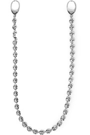 Silver-plated sunglasses chain
