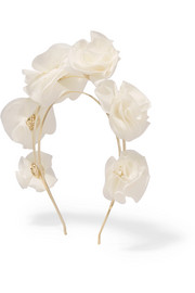 Silk-georgette headband