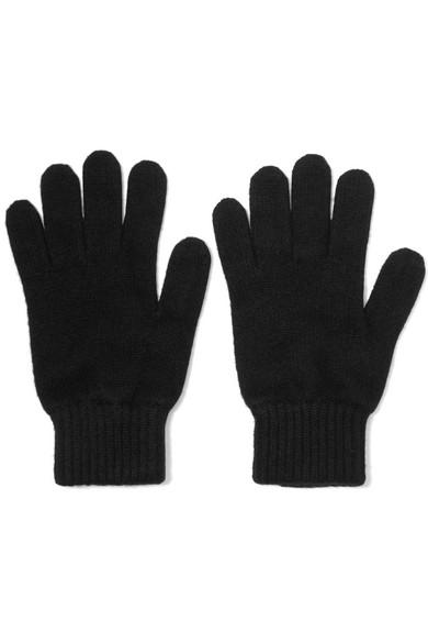 Johnstons of Elgin - Cashmere Gloves - Black