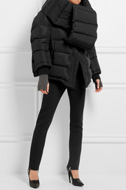 Swing Doudoune oversized quilted shell hooded coat