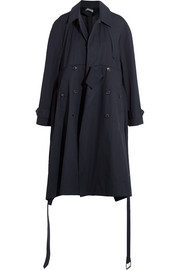 Balenciaga Oversized cotton trench coat