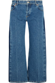 Balenciaga Rockabilly cropped high-rise straight-leg jeans