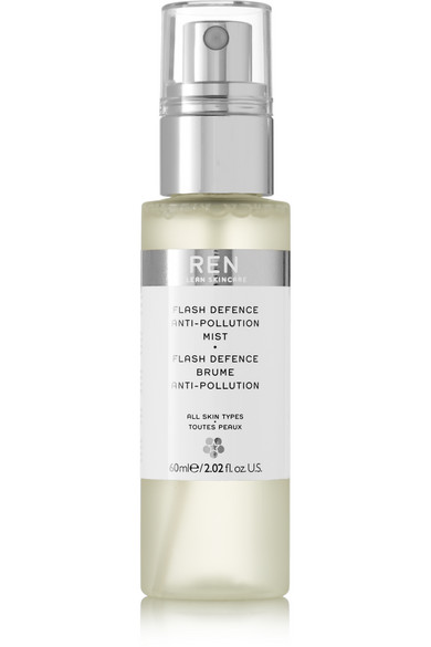 REN Skincare - Flash Defense Anti-pollution Mist, 60ml - Colorless