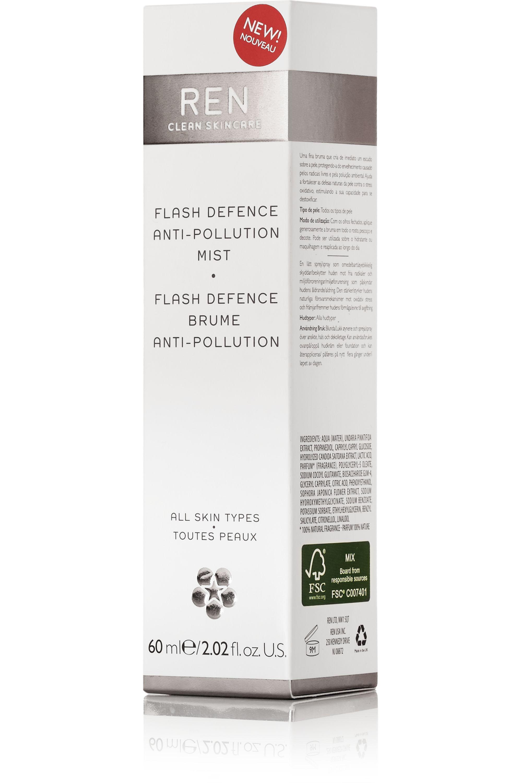REN Clean Skincare Flash Defense Anti-Pollution Mist, 60 ml – Hautpflegespray