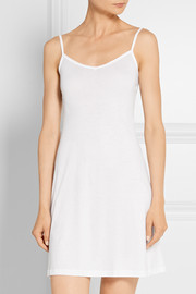 Ultralight mercerized cotton slip