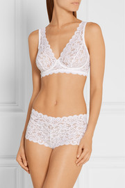 Moments stretch-lace briefs