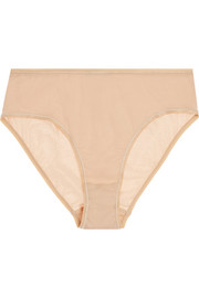 Midi mercerized cotton briefs