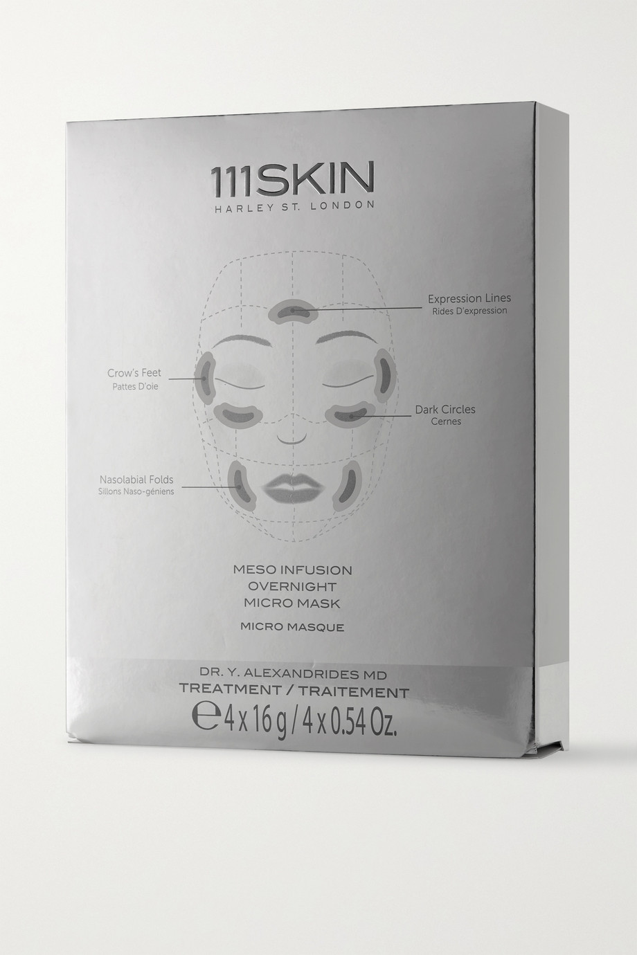 111SKIN Meso Infusion Overnight Micro Mask x 4