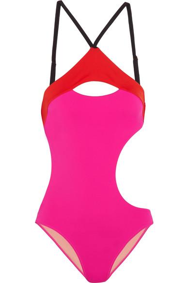 L Agent by Agent Provocateur. Alenya cutout color-block swimsuit cde38714e