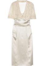 Philosophy di Alberta FerrettiSilk-satin knee-length dress