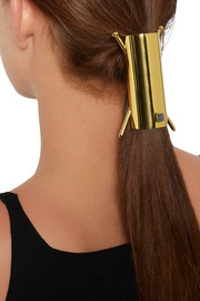 Gold-tone embellished hair pin