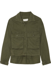 The Swingy Army canvas jacket