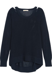 MICHAEL Michael Kors Cutout open-knit sweater