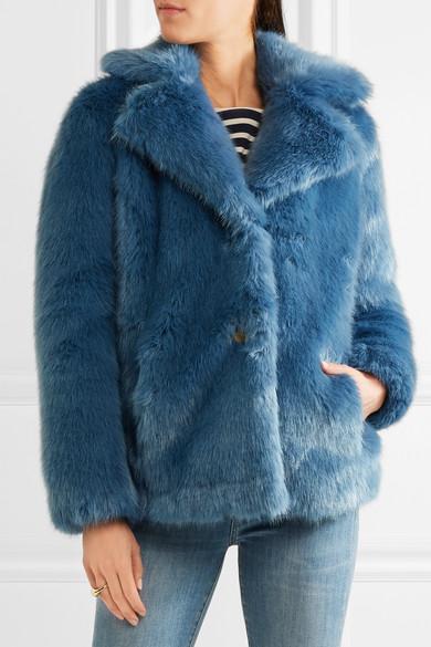 MICHAEL Michael Kors | Faux fur jacket | NET-A-PORTER.COM