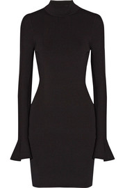 MICHAEL Michael Kors Stretch-knit turtleneck mini dress