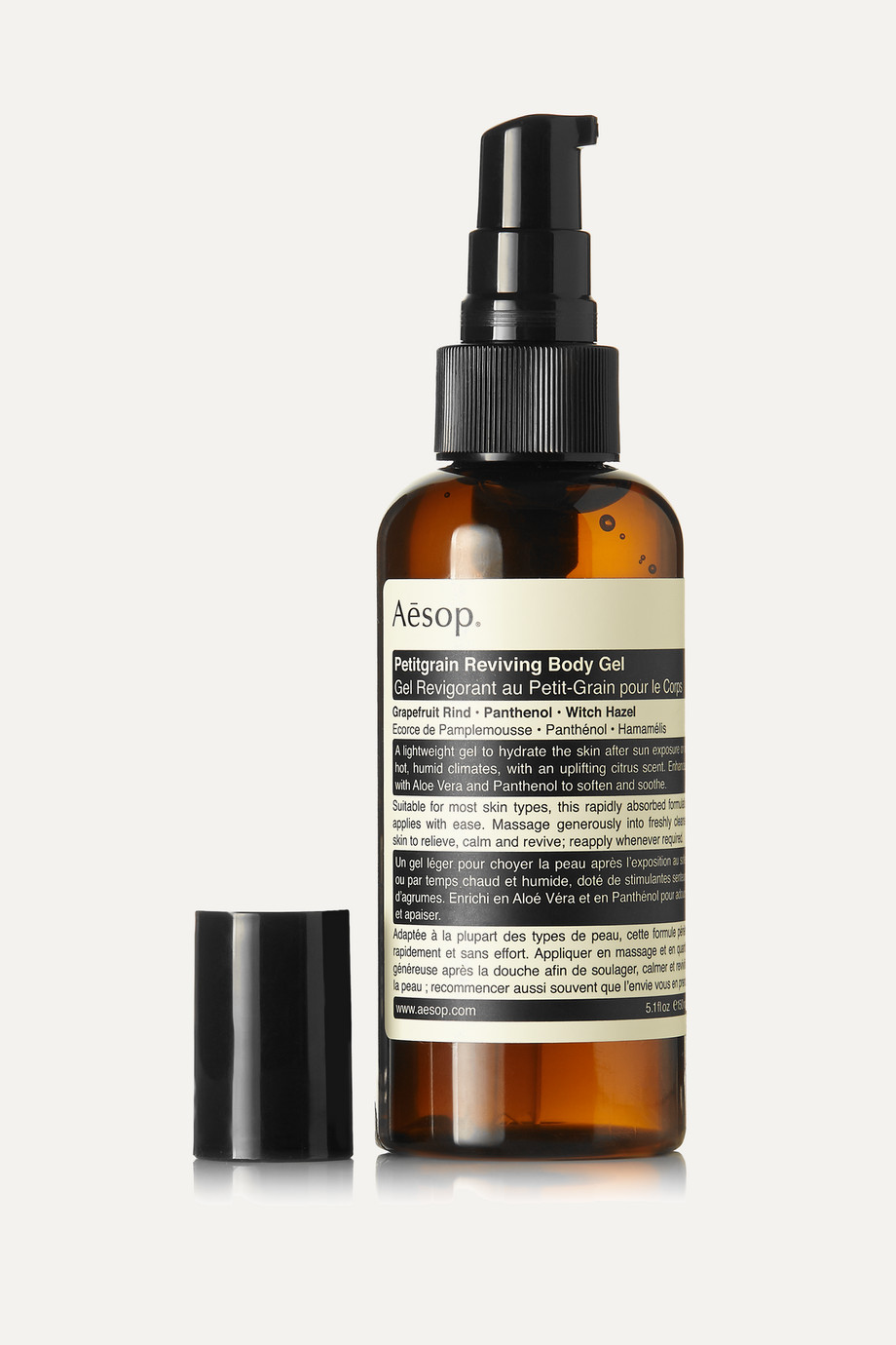 Aesop Petitgrain Reviving Body Gel, 150ml