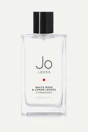 Jo Loves White Rose & Lemon Leaves, 100ml