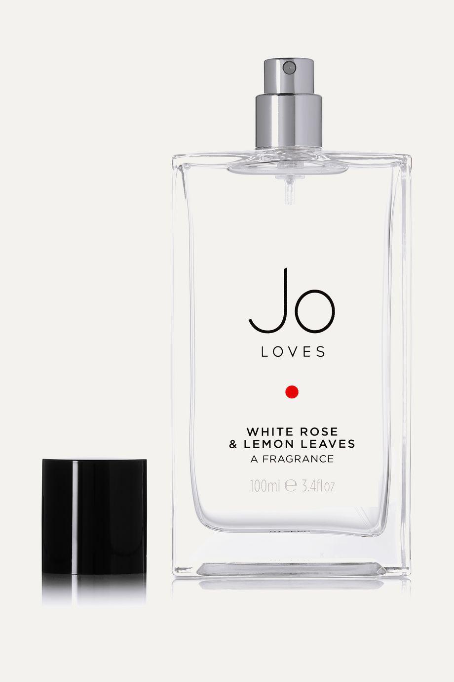 Jo Loves White Rose & Lemon Leaves, 100ml