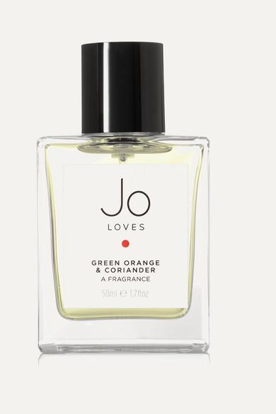 JO LOVES GREEN ORANGE & CORIANDER - BITTER GREEN ORANGE & BLACK PEPPER, 50ML
