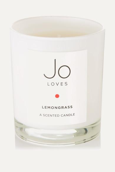 JO LOVES LEMONGRASS SCENTED CANDLE, 185G