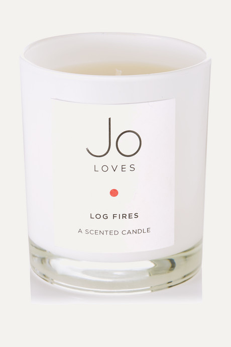 Colorless Log Fires scented candle, 185g  | Jo Loves 9gj2YW