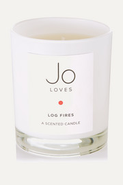 Log Fires scented candle, 185g