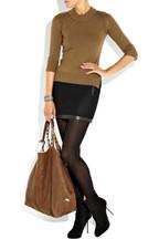 MajeAncenis wool-blend mini skirt