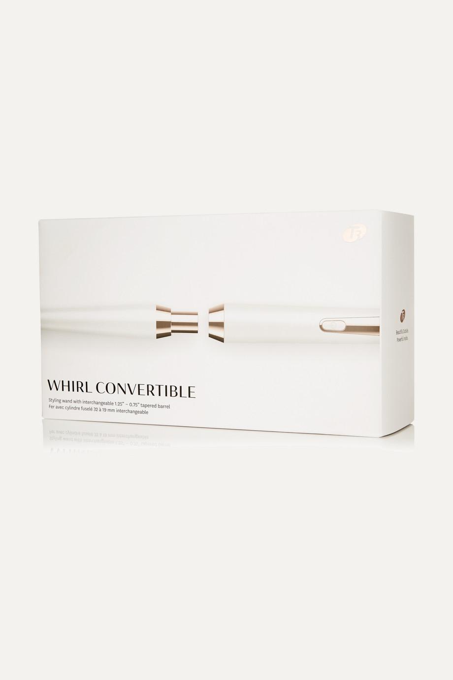 T3 Whirl Convertible Styling Wand –  Lockenstab mit dreipoligem Netzstecker (UK)