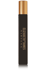 Elizabeth and James Nirvana Nirvana Black Rollerball Eau de Parfum - Violet, Sandalwood & Vanilla, 10ml