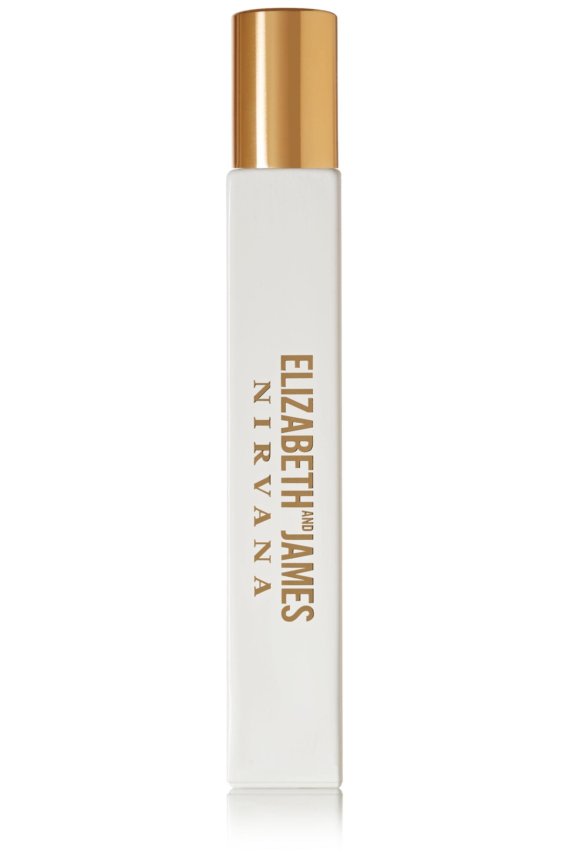 Elizabeth and James Nirvana Nirvana White Rollerball Eau de Parfum - Peony, Muguet & Tender Musk, 10ml